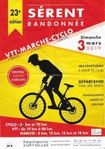 Rando VTT - CYCLO - MARCHE