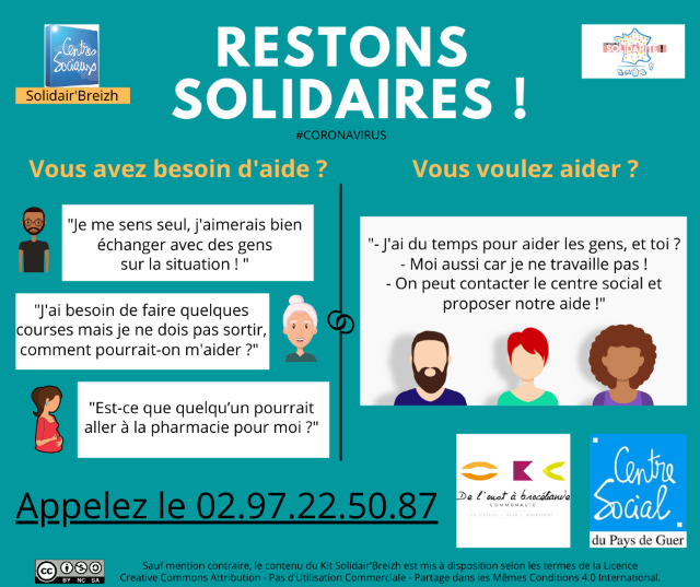 affiche restons solidaires obc