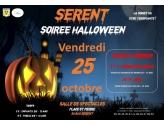 Halloween : soirée le 25 octobre