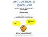 Vente de brioches et chocolats par l'association Dan Ar Koz