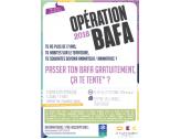 Opération Bafa 2018