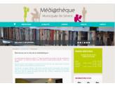 Nouveau site de la médiathèque